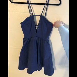 Tobi Dresses - Blue skater dress